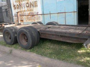 fresadora de asfalto con trailer de traslado