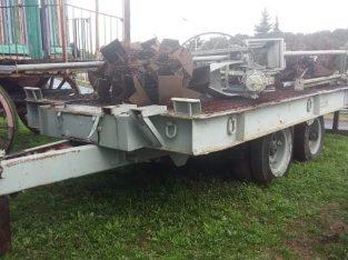 Carreton Basculante marca Prati – 18/20 toneladas. 2.60 x 6 de plancha. Rodado 20. Frenos a aire…