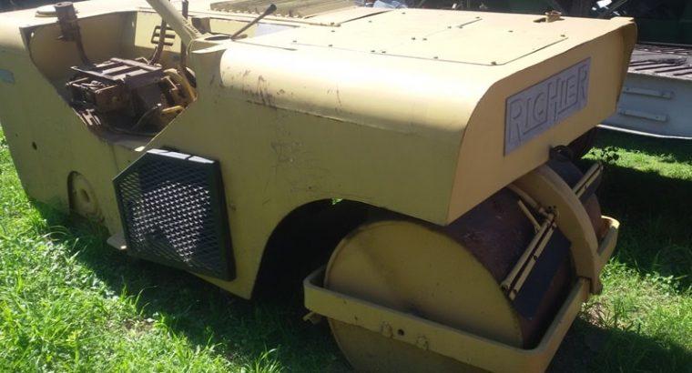Rodillo Doble Tambor Vibrante marca Richier sin motor