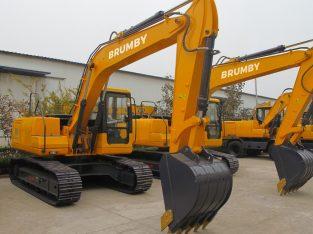 Excavadora Brumby BRJH12 166 HP