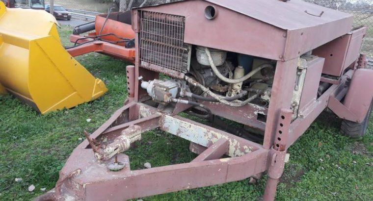 Bomba de Hormigón marca Thomson con motor Deutz 913/6