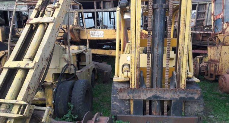 Autoelevadores para 5 y 6 toneladas. Motores Continental 6Y y Hyster
