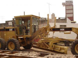 Cat 140H , 2007.