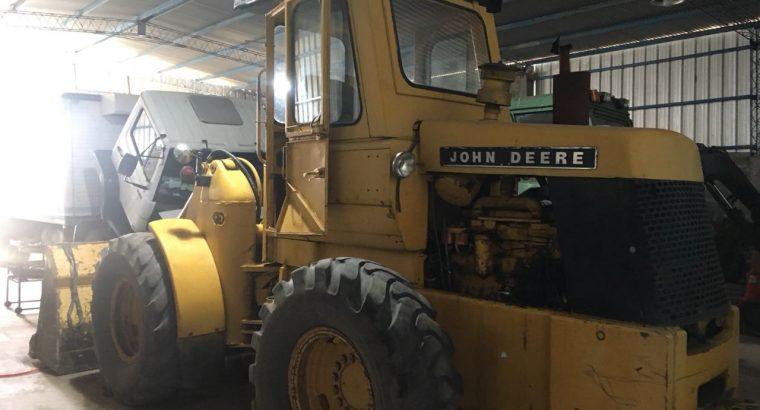 Pala cargadora John deere 544