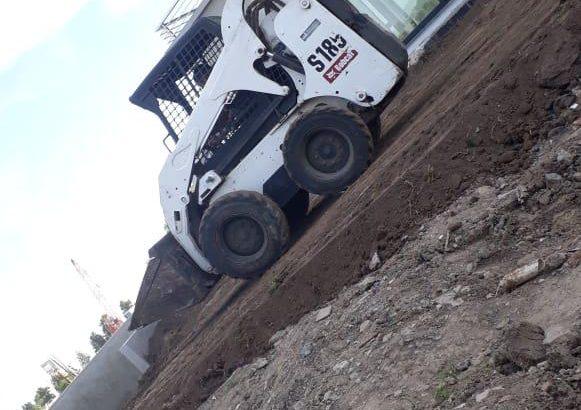 Bobcat mini excavadora