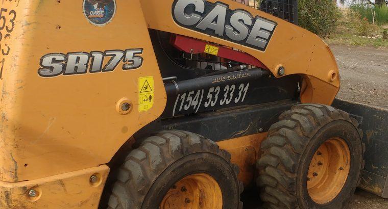 Vendo minicargadora case sr 175