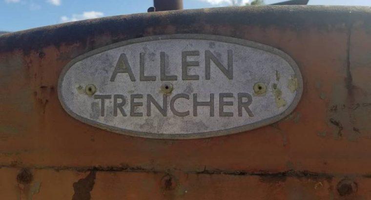 Zanjadora Allen Trencher