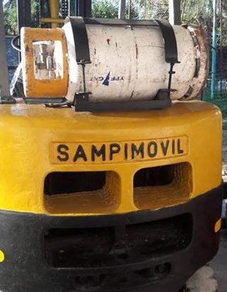 VENDO AUTOELEVADOR SAMPIMOVIL PARA 2.5 TN NAFTA – GAS TORRE DOBLE