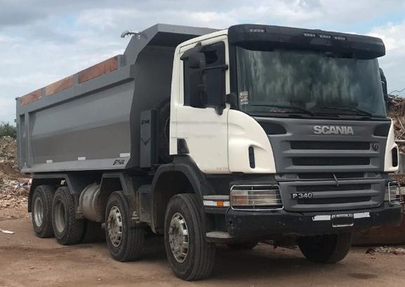 Scania p340 , 8×4 , 2012.