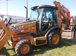 Pala y retro Case 580l 4 x 4