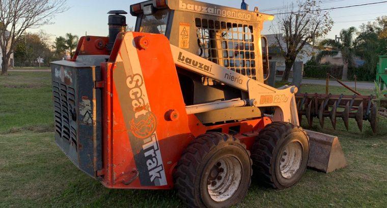 Scat Trak (trailer, brazo retro y zanjeadora)