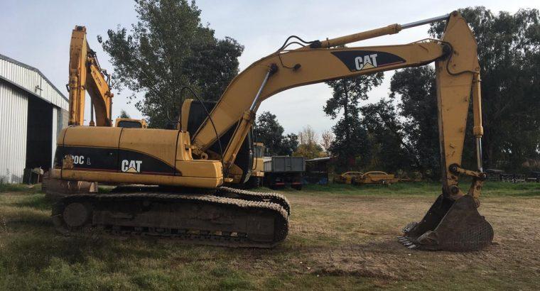Excavadora Caterpillar 320 cl