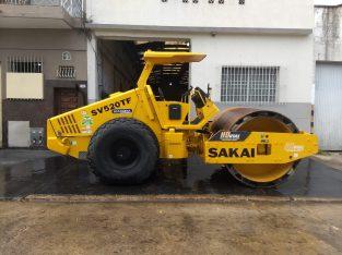 Rodillo vibró compactador Sakai sv520tf
