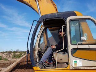 Excavadora Samsung 210 LC 21.5 TN