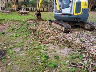 Mini excavadora 3.7T