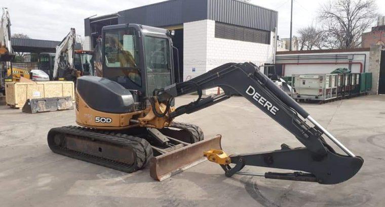 Excavadora John Deere 50 D