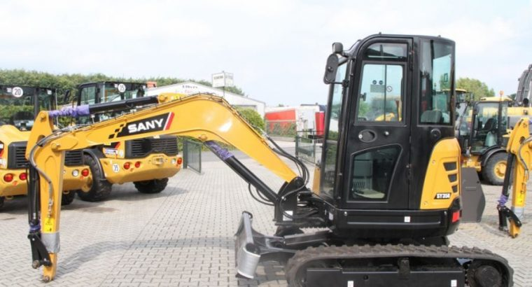 Mini excavadora sany s35