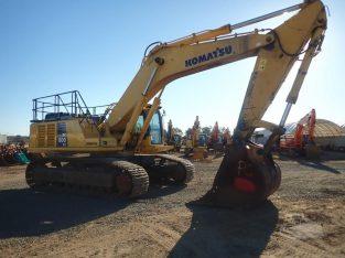 Excavadora KOMATSU PC600 LC-8