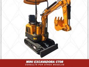 Miniexcavadora CT08
