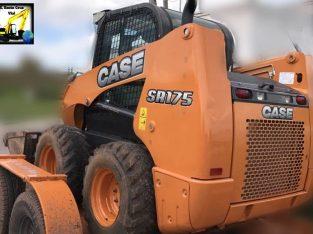 Mini cargadora Case Sr175