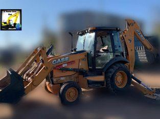 Retro excavadora Case 580