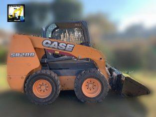 Mini cargadora CASE SR200