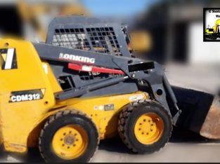 Mini cargadora Lonking CDM 312
