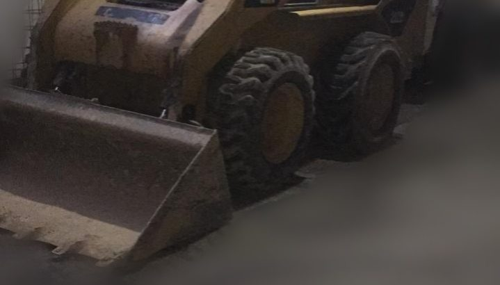 Mini cargadora Caterpillar 252b2