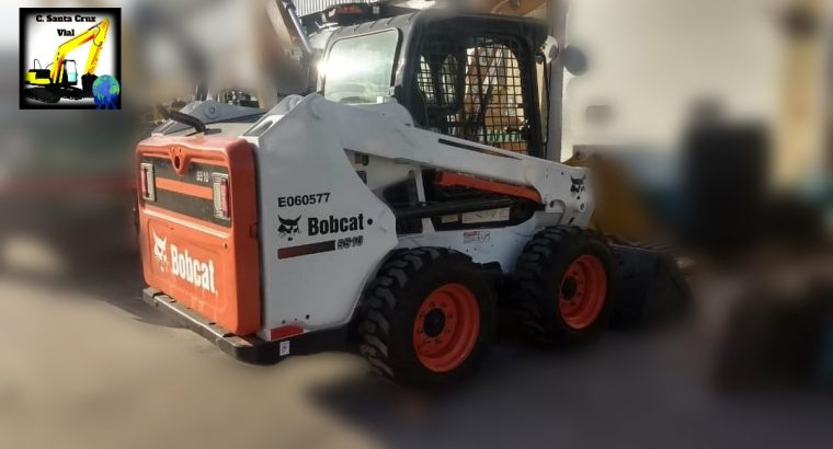 Mini cargadora Bobcat s510