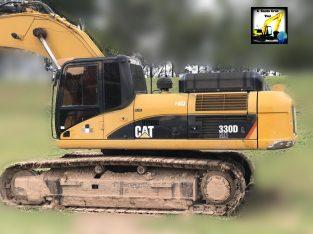 Excavadora sobre orugas Caterpillar 330dl