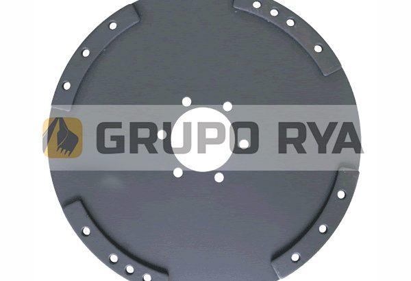 Chapa de acople recta Autoelevador // Grupo RYA