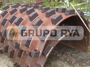 Casco Pata De Cabra Para Compactadora // Grupo RYA