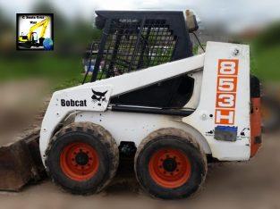Minicargadora Bobcat 853H