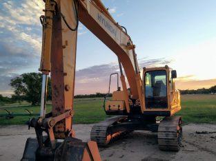 Excavadora sobre orugas Hyundai 220 LC-95