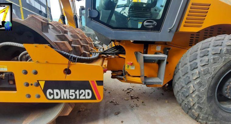 Rodillo vibro compactador Lonking CDM512D