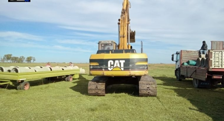 Excavadora sobre orugas Caterpillar 320BL