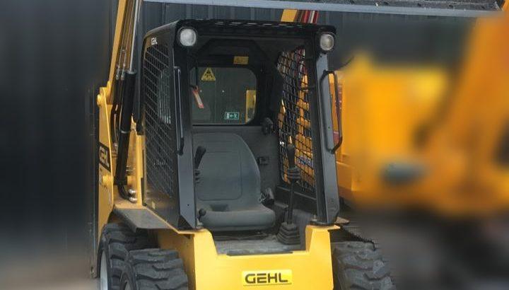 Mini cargadora Gehl 2021