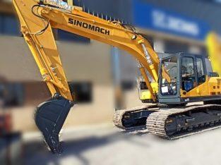 Excavadora sobre orugas Sinomach xe230