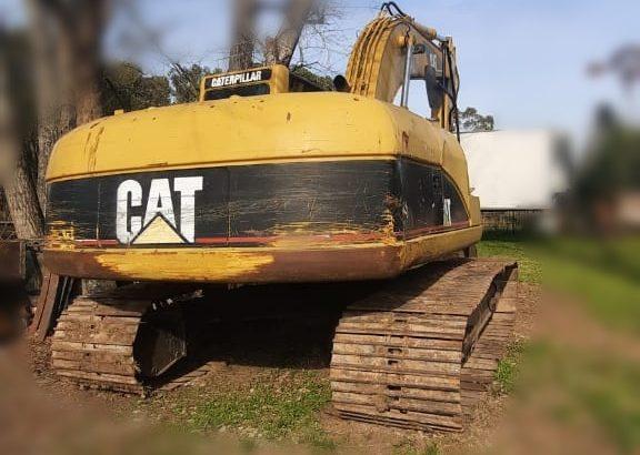 Excavadora sobre orugas Caterpillar 320c